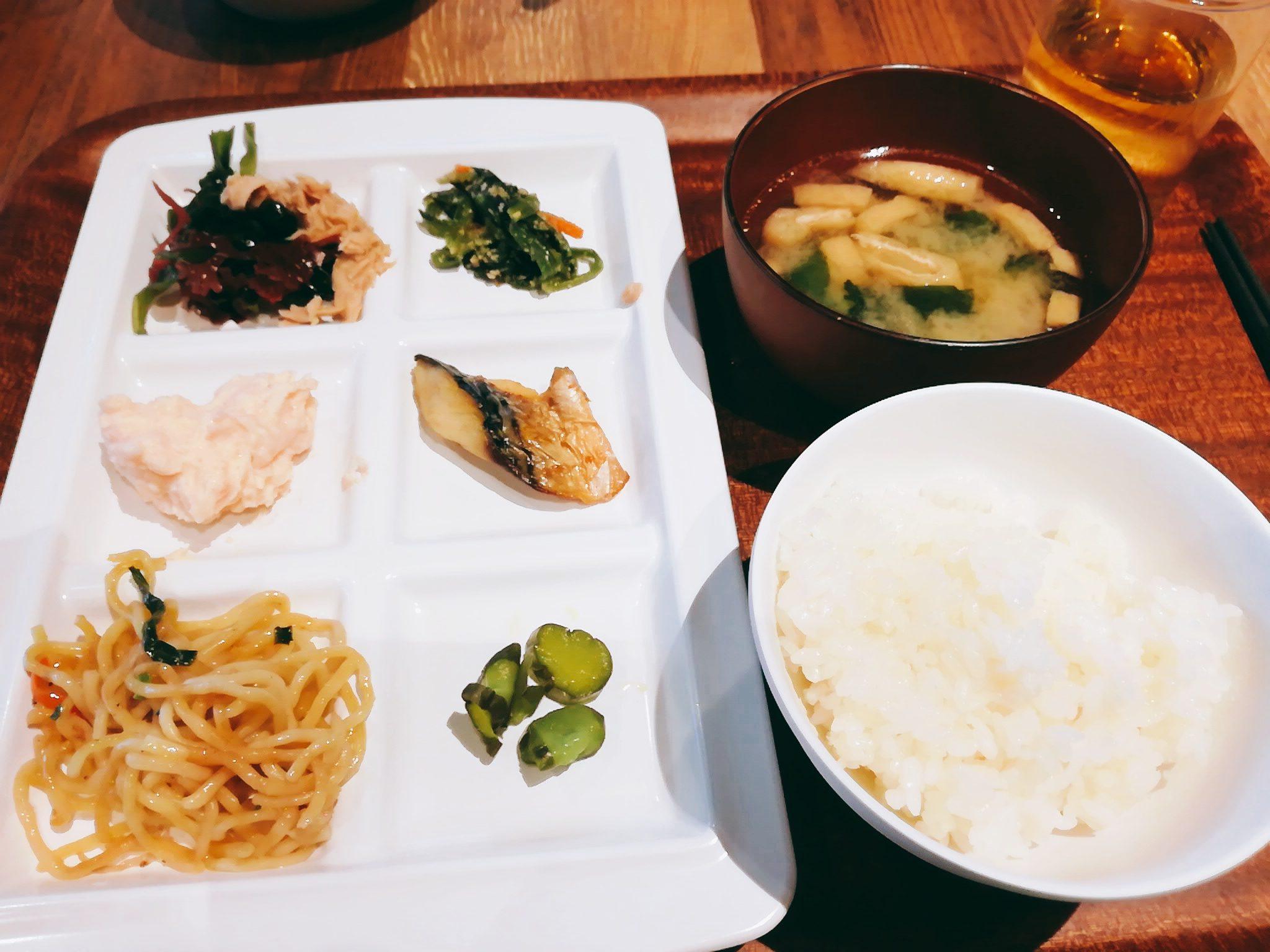 変なホテル舞浜東京ベイの朝食バイキング和食メニュー