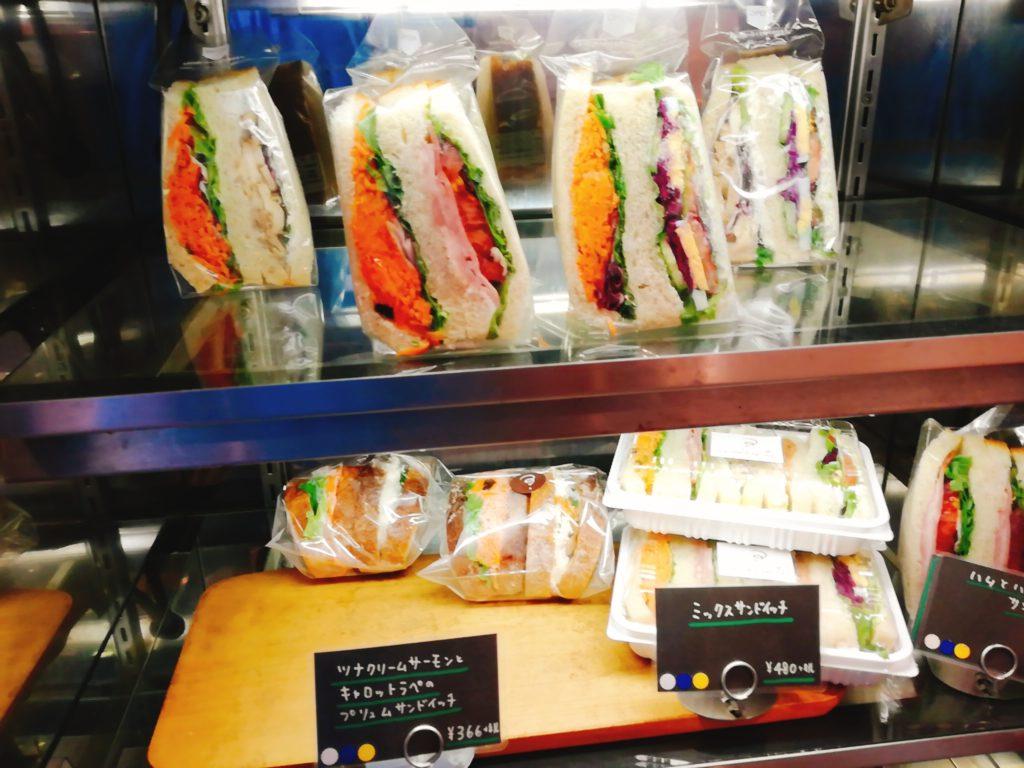 ラヴィエクスキーズのサンドイッチ