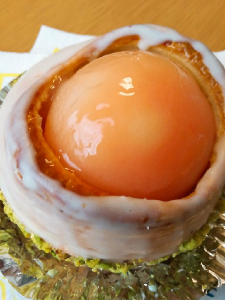 上町の魅力⑤ 天然酵母が美味しいパン屋「サンセリテ」の白桃ヨーグルトパン