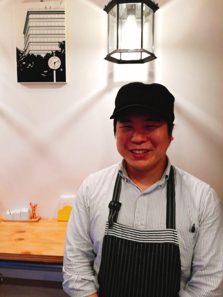 後藤醸造の店長、後藤健郎さん