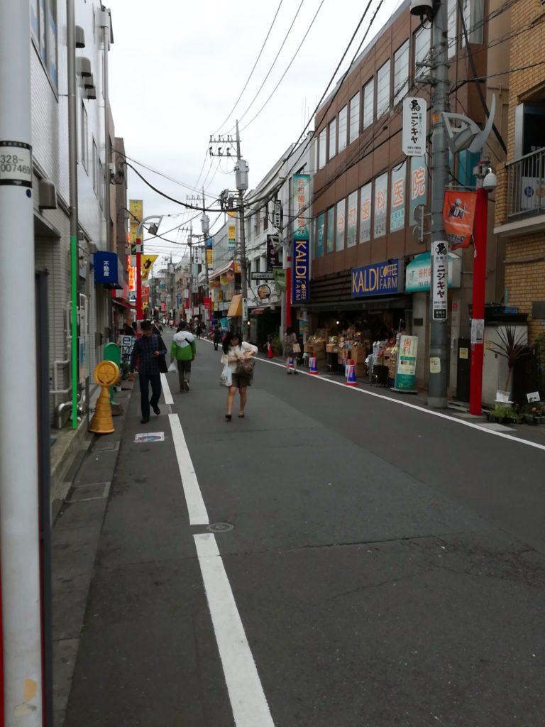 ニシキヤ洋菓子店があるウルトラマン商店街