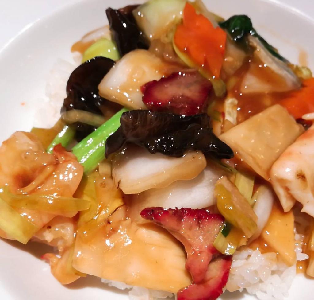 広味房の中華丼