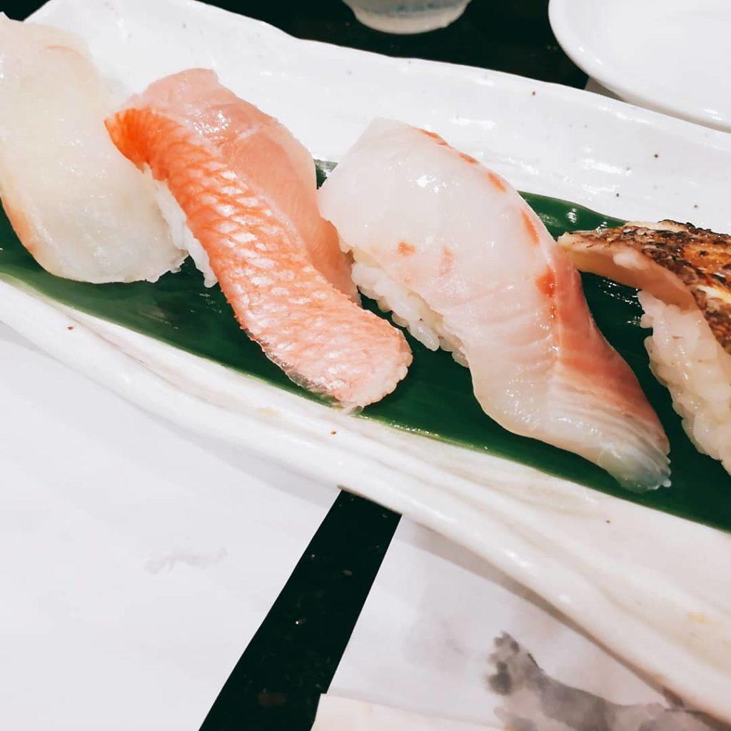 美登利寿司のキンメダイ