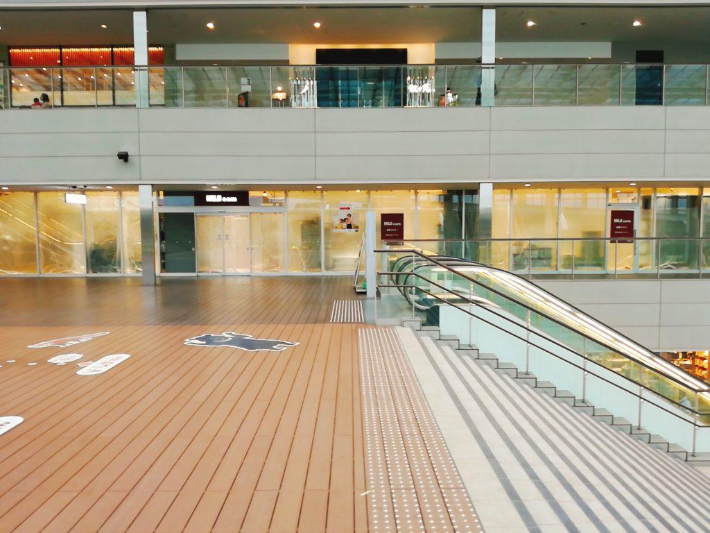 経堂コルティ無印良品(MUJI com)はコルティの3階