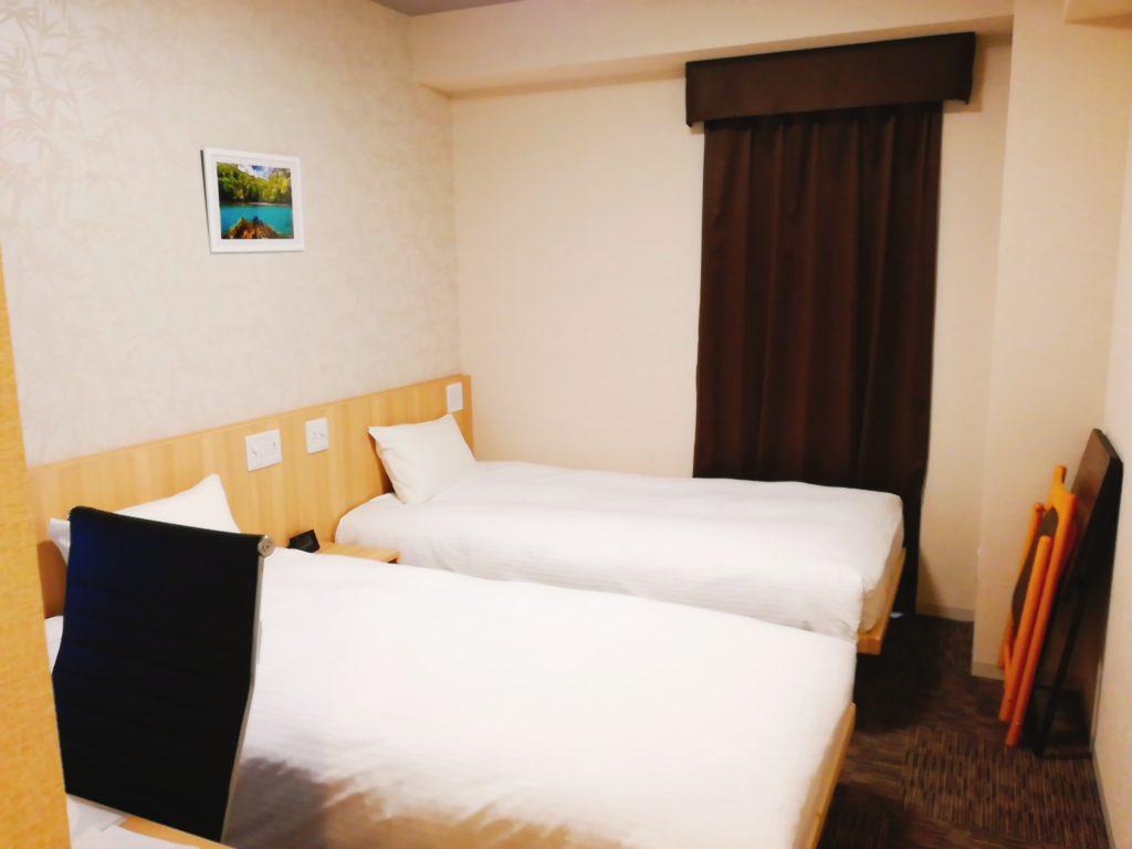 たびのホテル佐渡の部屋