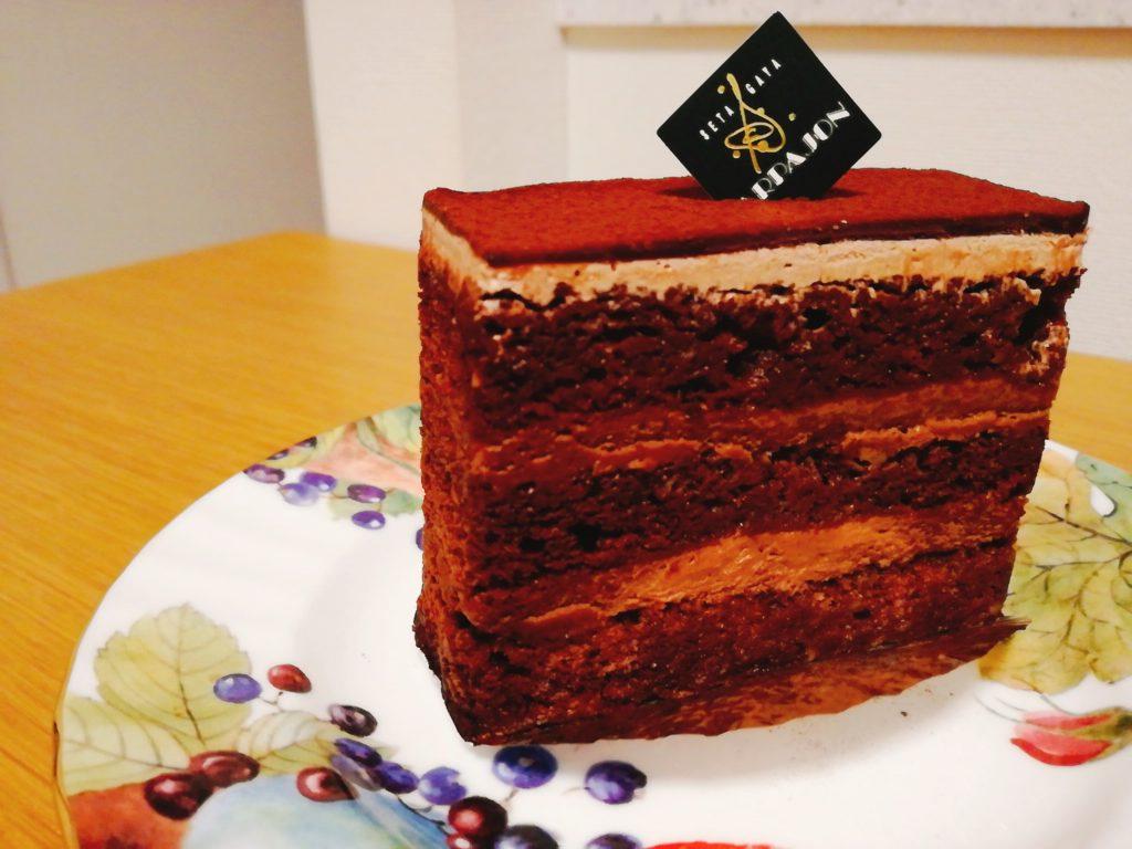 アルパジョンのチョコケーキ