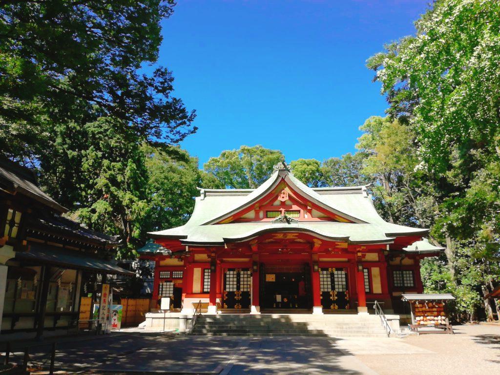 上町の魅力⑦ パワースポット「世田谷八幡宮」