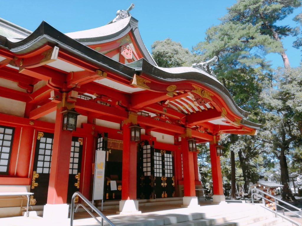 世田谷八幡宮の社殿