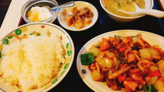 皇庭餃子房(中華)の日替わりランチ
