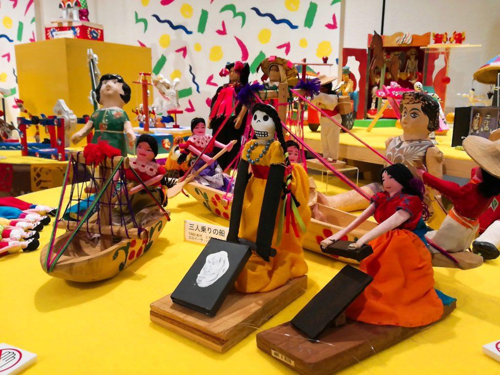 生活工房(2018年11月初旬)「人は遊ぶ〜メキシコ民芸玩具展」のおもちゃ