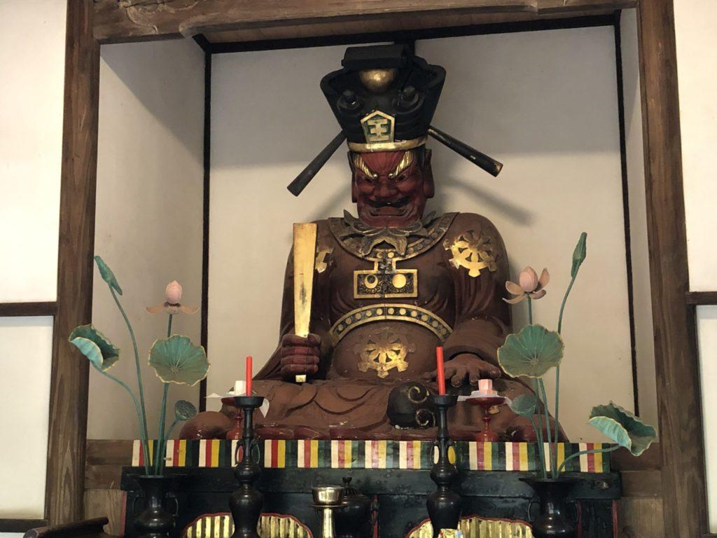 九品仏浄信寺の閻魔堂