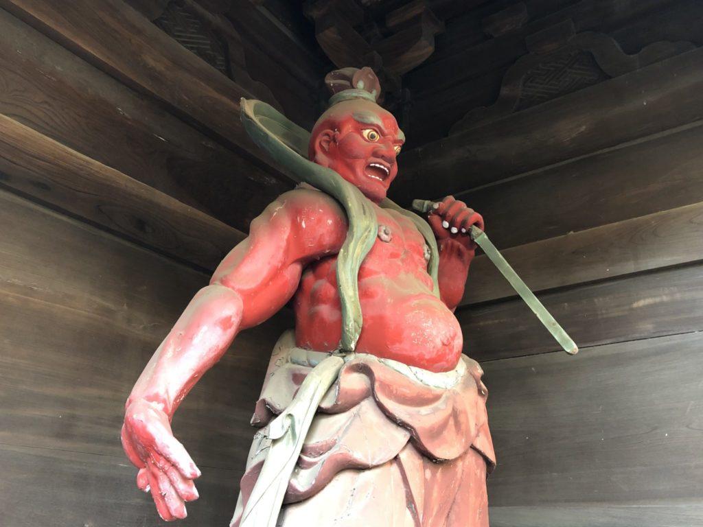 九品仏浄真寺の仁王像