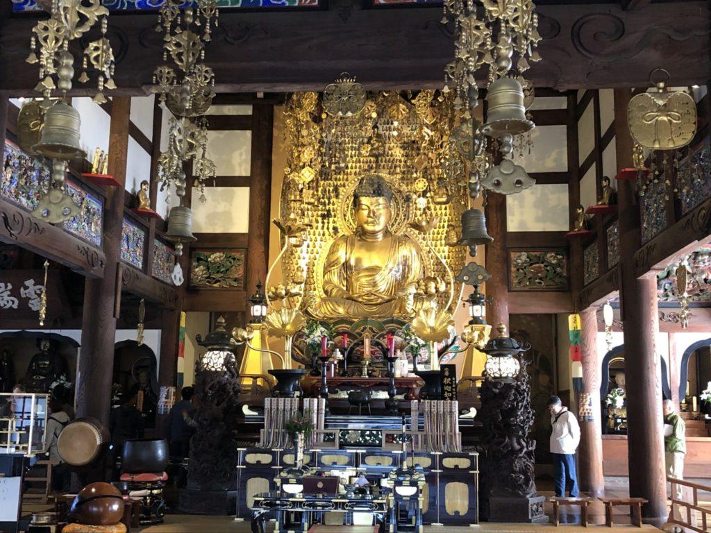 九品仏浄心時の仏像