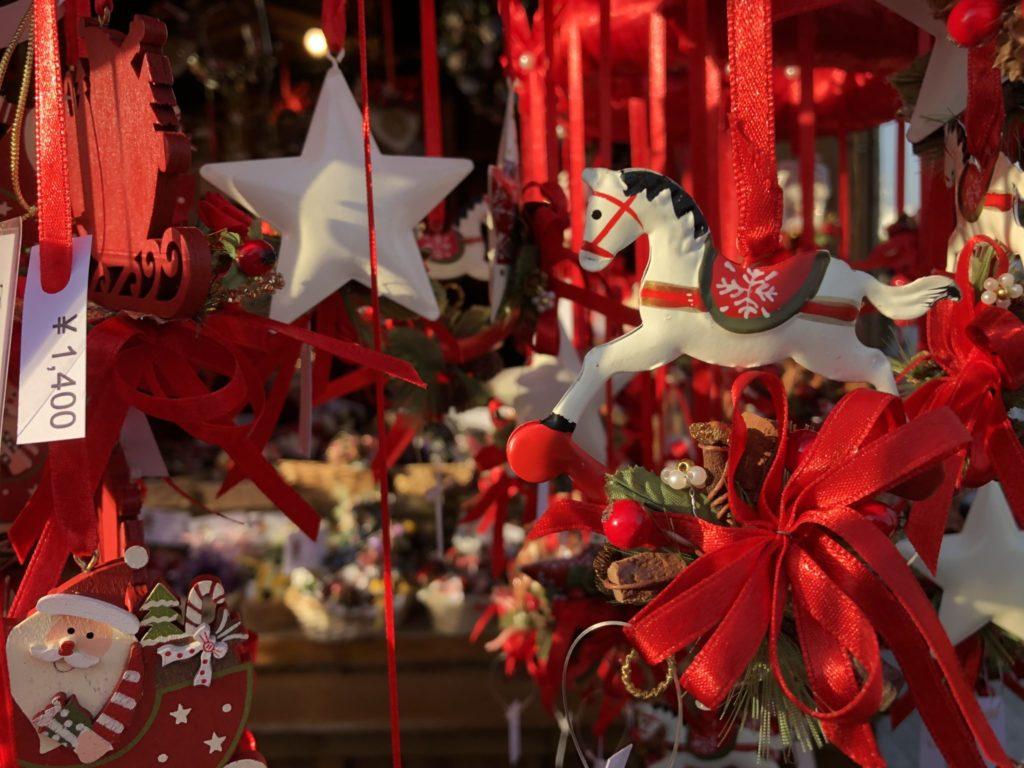 横浜クリスマスマーケットで買えるクリスマスグッズ