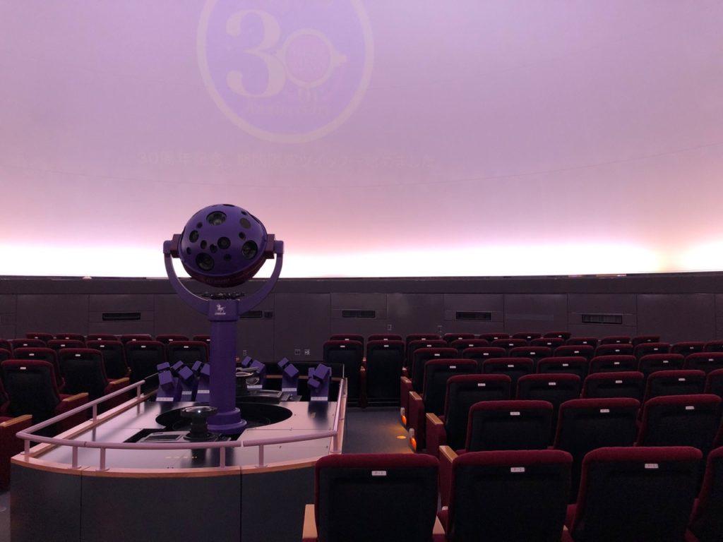 世田谷教育センタープラネタリウムの最新鋭投影機