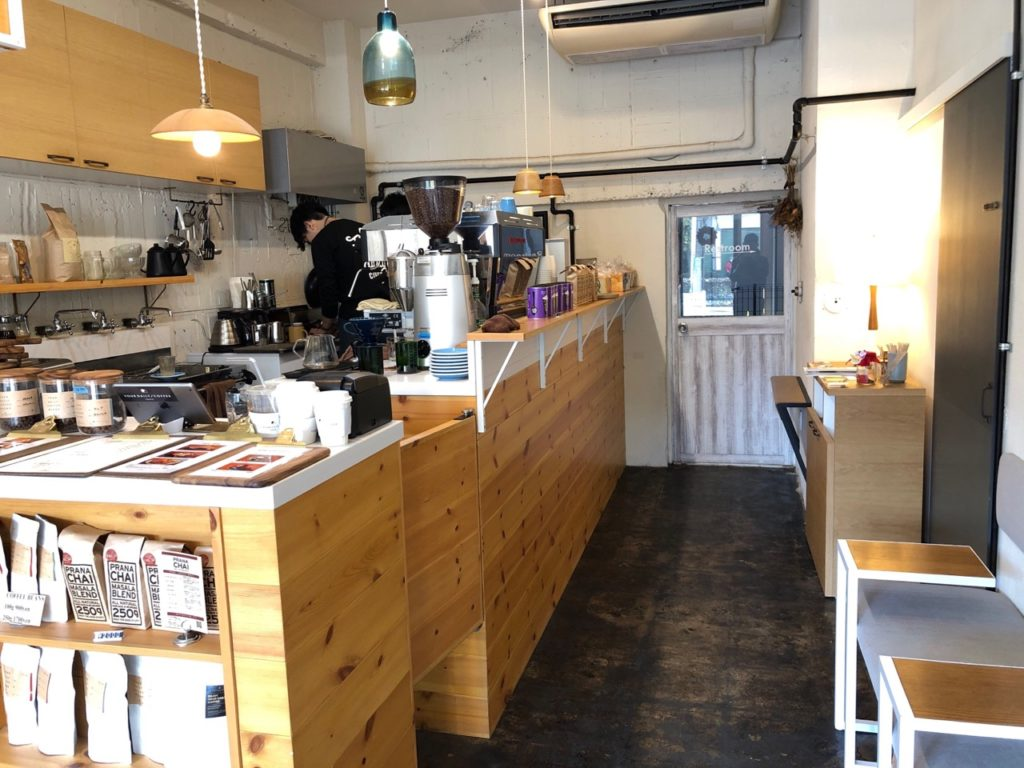 YOUR DAILY COFFEEの店内