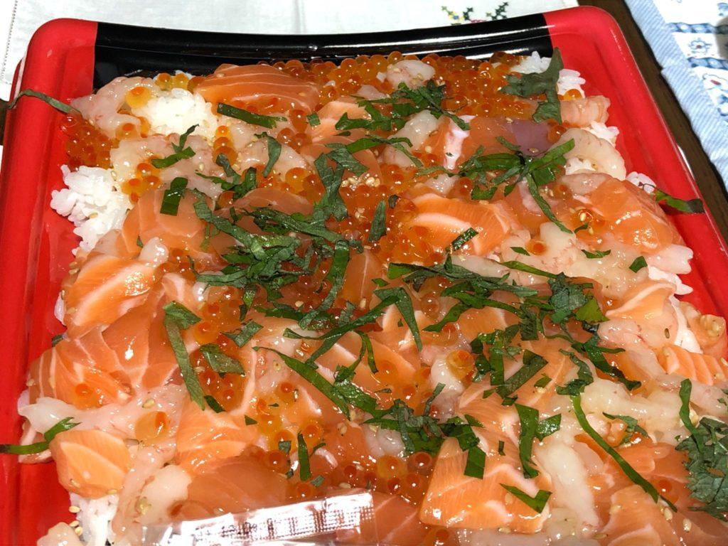 コストコ海鮮ちらし寿司