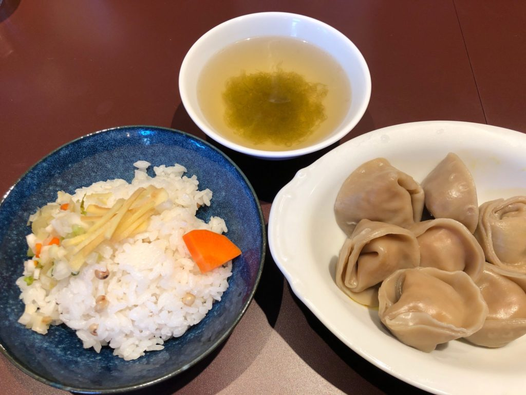 按田餃子の餃子定食
