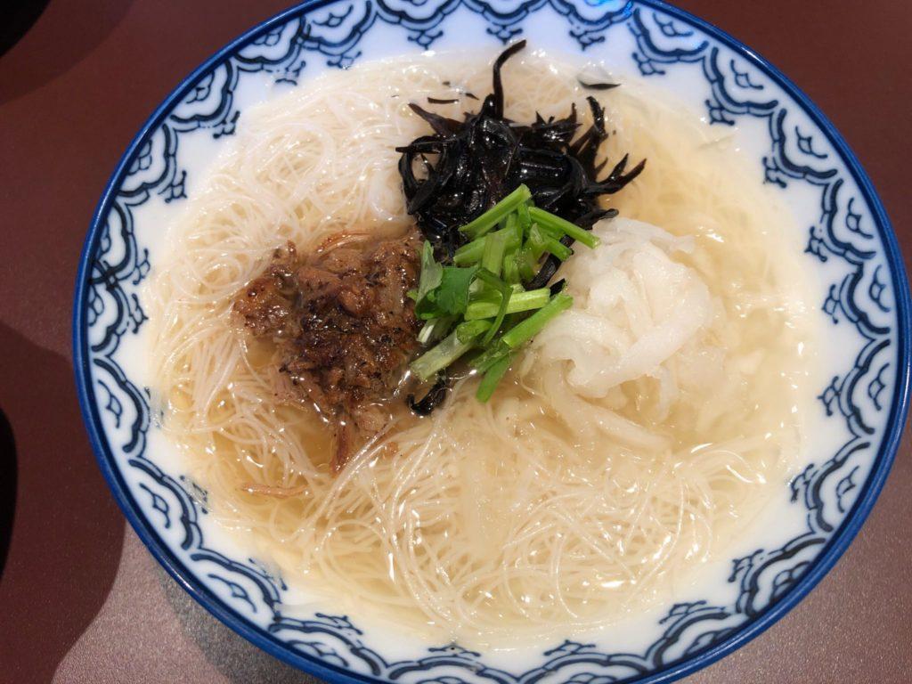 按田餃子の一杯麺