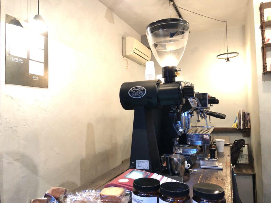 アイアンコーヒーのエスプレッソマシン
