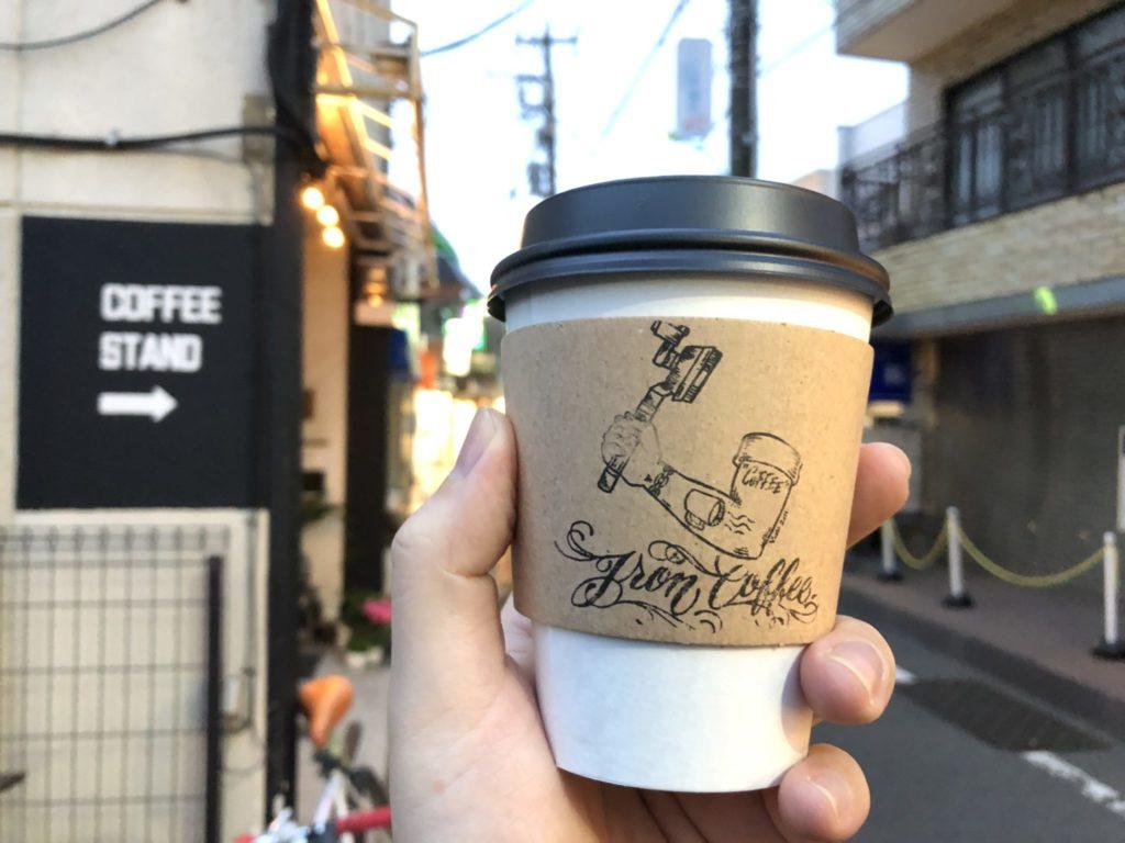 アイアンコーヒーのアメリカーノ