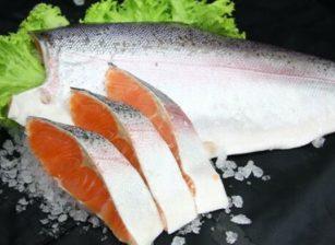 コストコのトラウトサーモン定塩・切身 約1kg 約2,800円