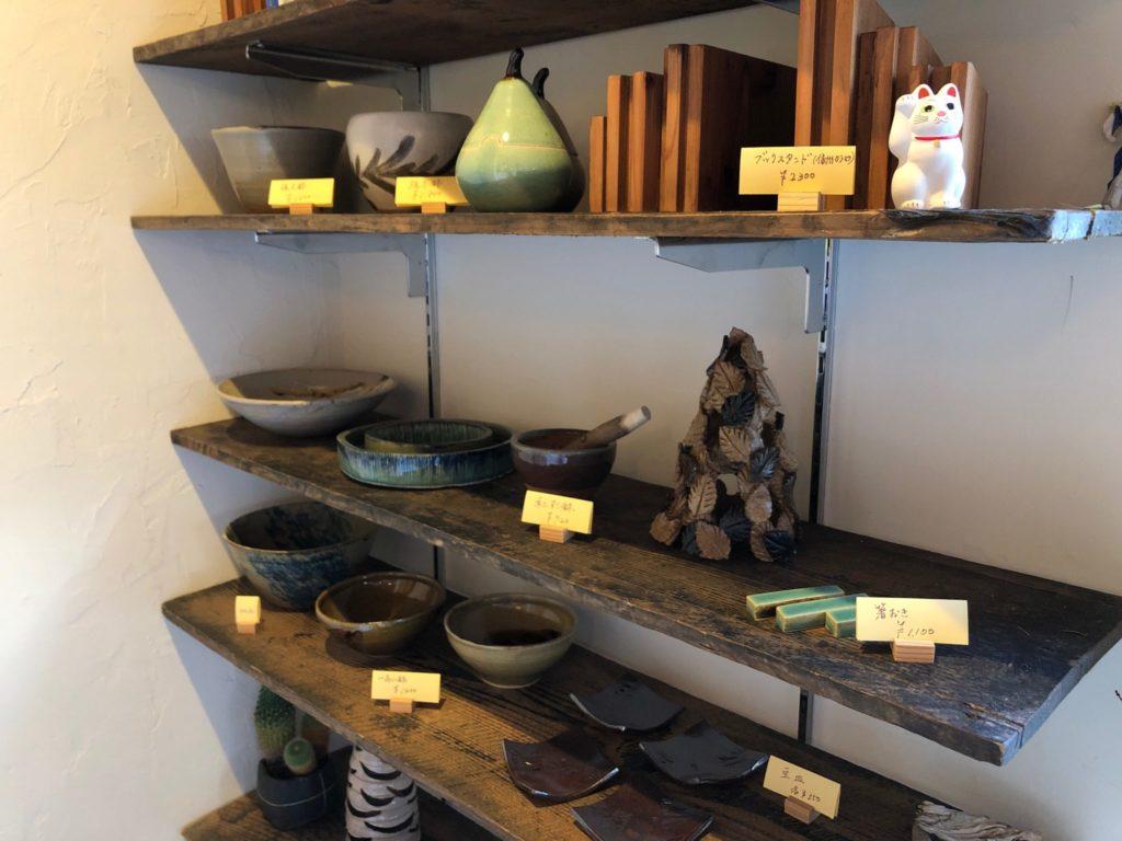 アンキミカで販売されている陶芸作品