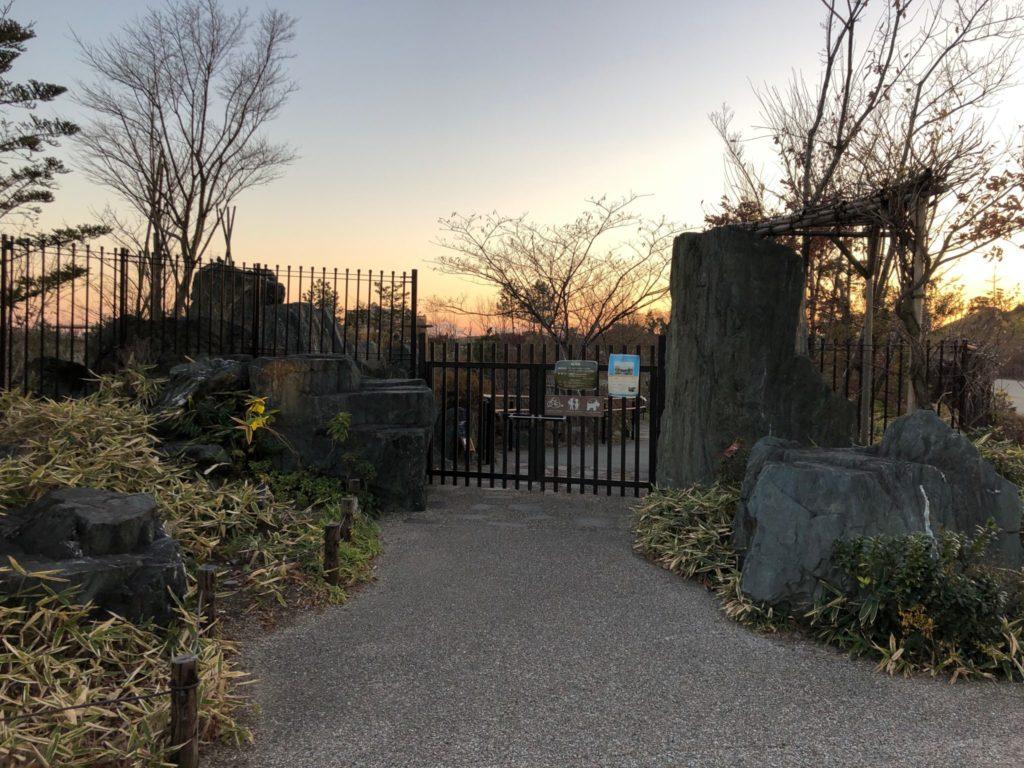 日本庭園(帰心園)の門