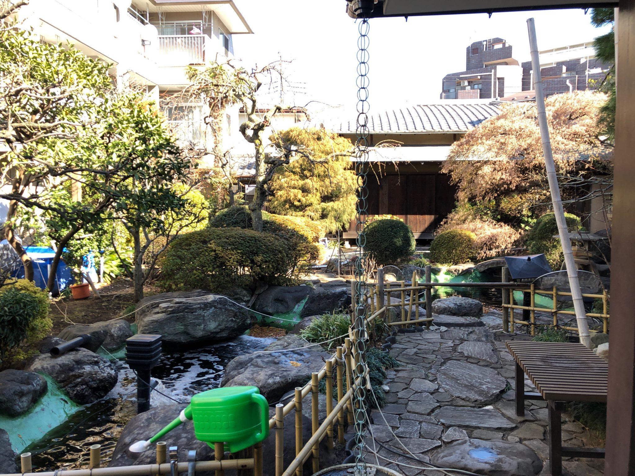城山の日本庭園