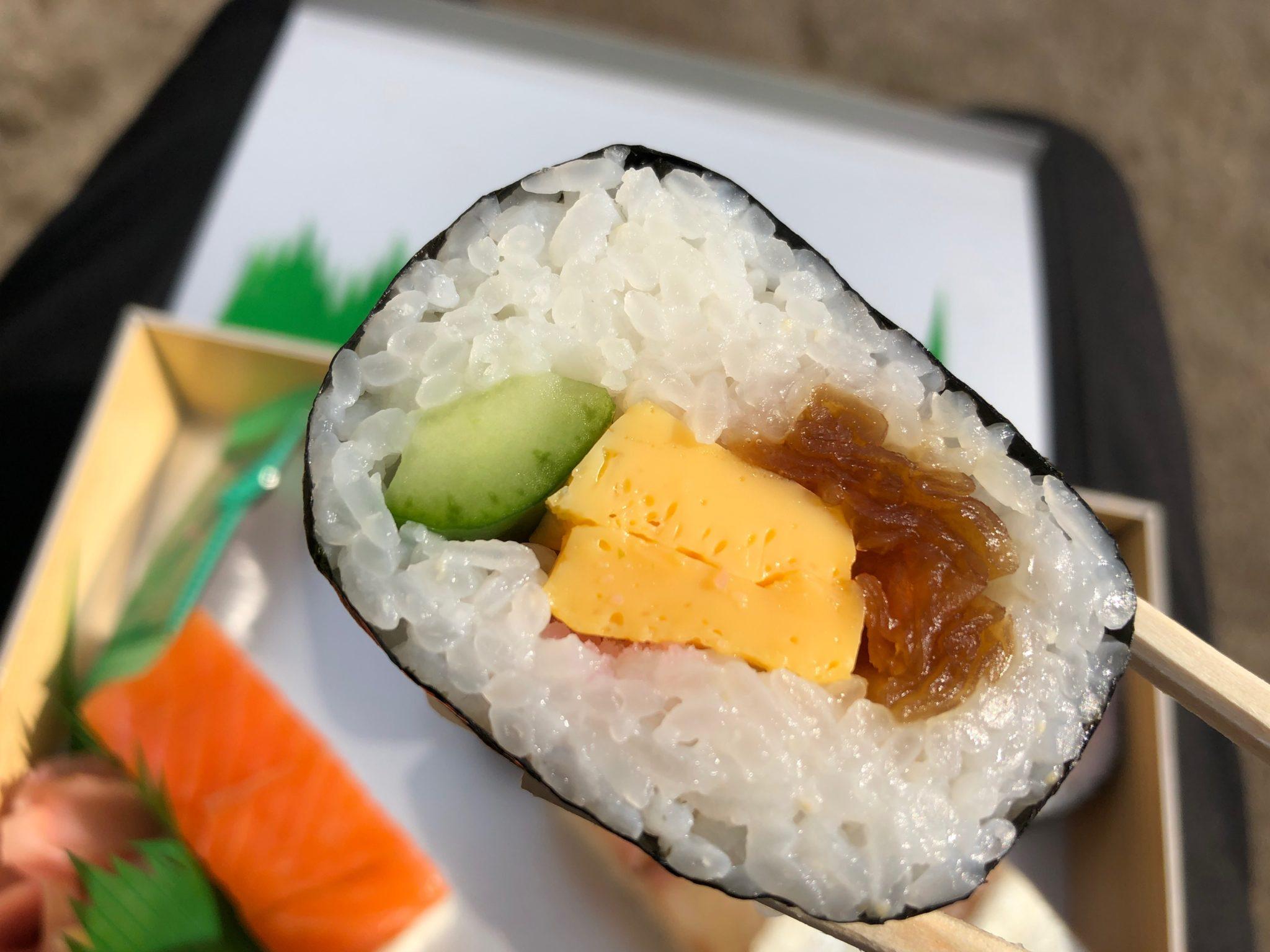 美の輪寿司の太巻き