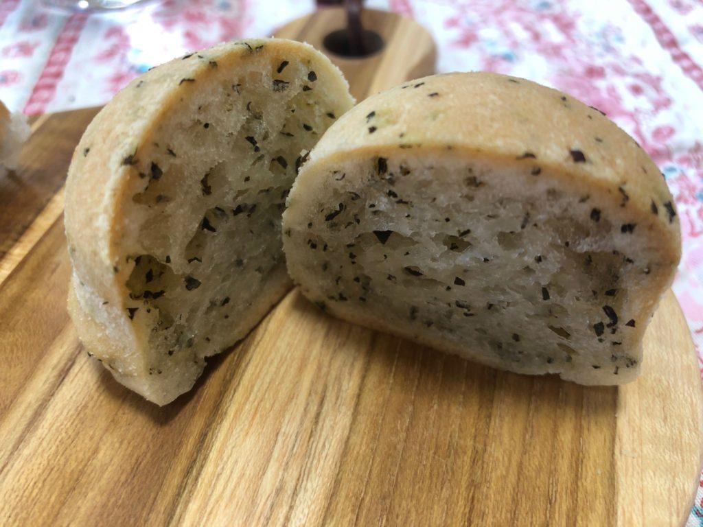 パンの蔵のバジルボール