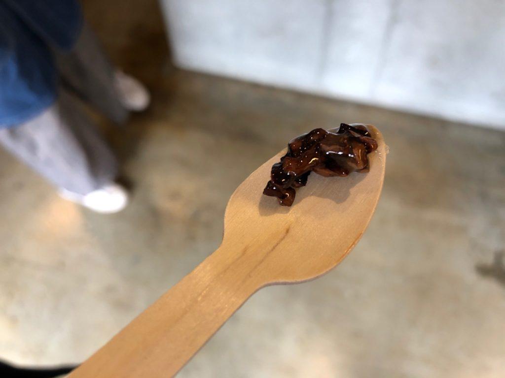 クラフトチョコレートワークスのハニーカカオを試食