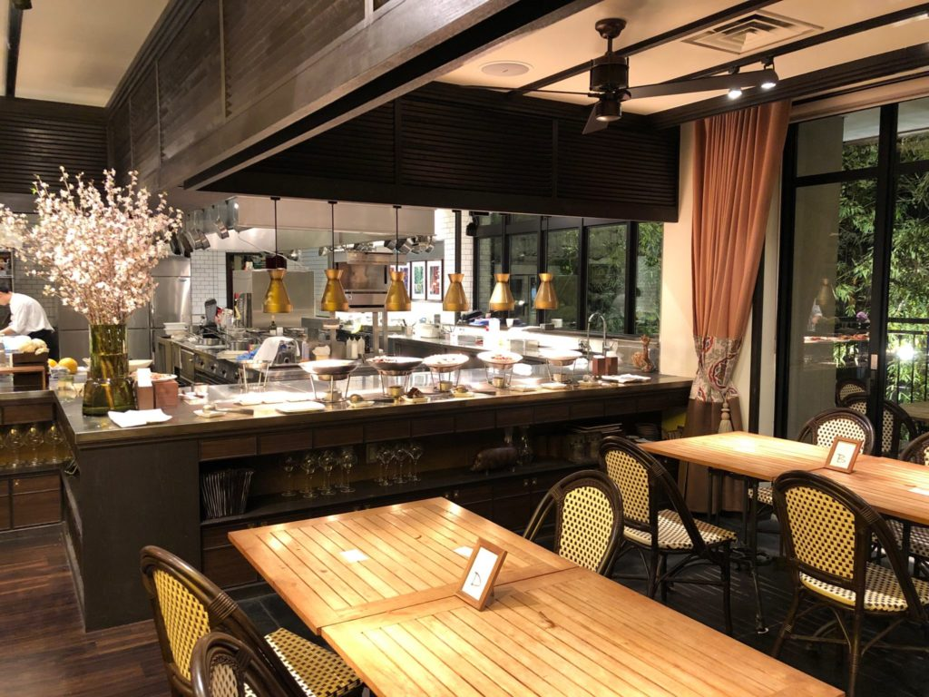 クラシカ表参道のオープンキッチン