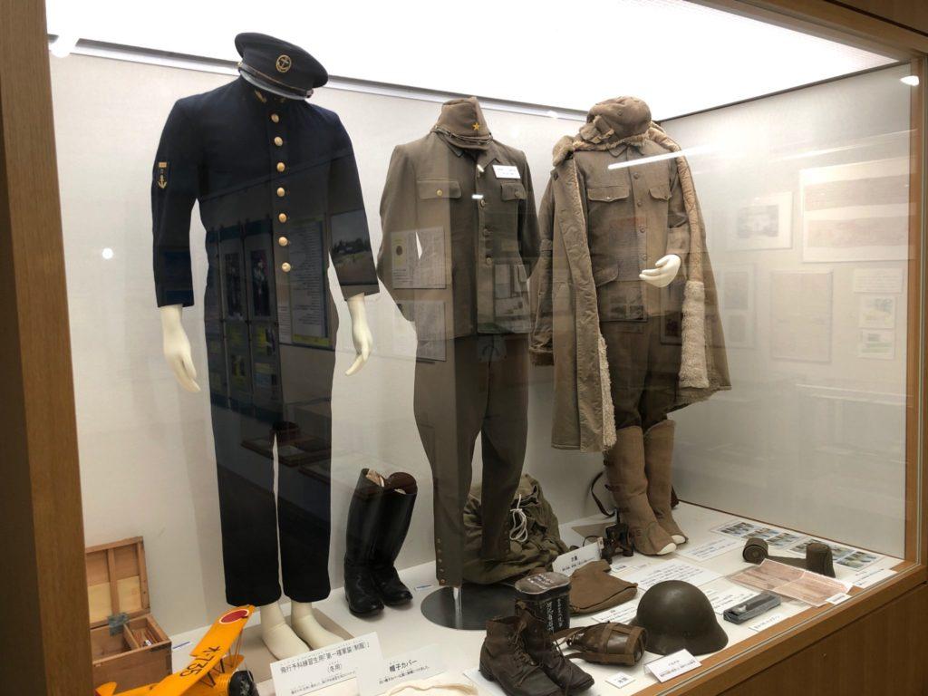 世田谷区立平和資料館に展示された制服
