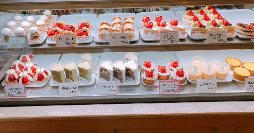 パティスリーミヤハラのケーキ