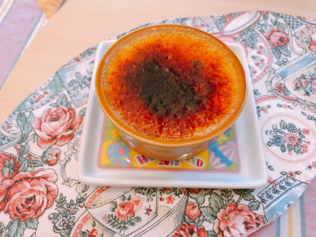 パティスリーミヤハラのかぼちゃのブリュレ