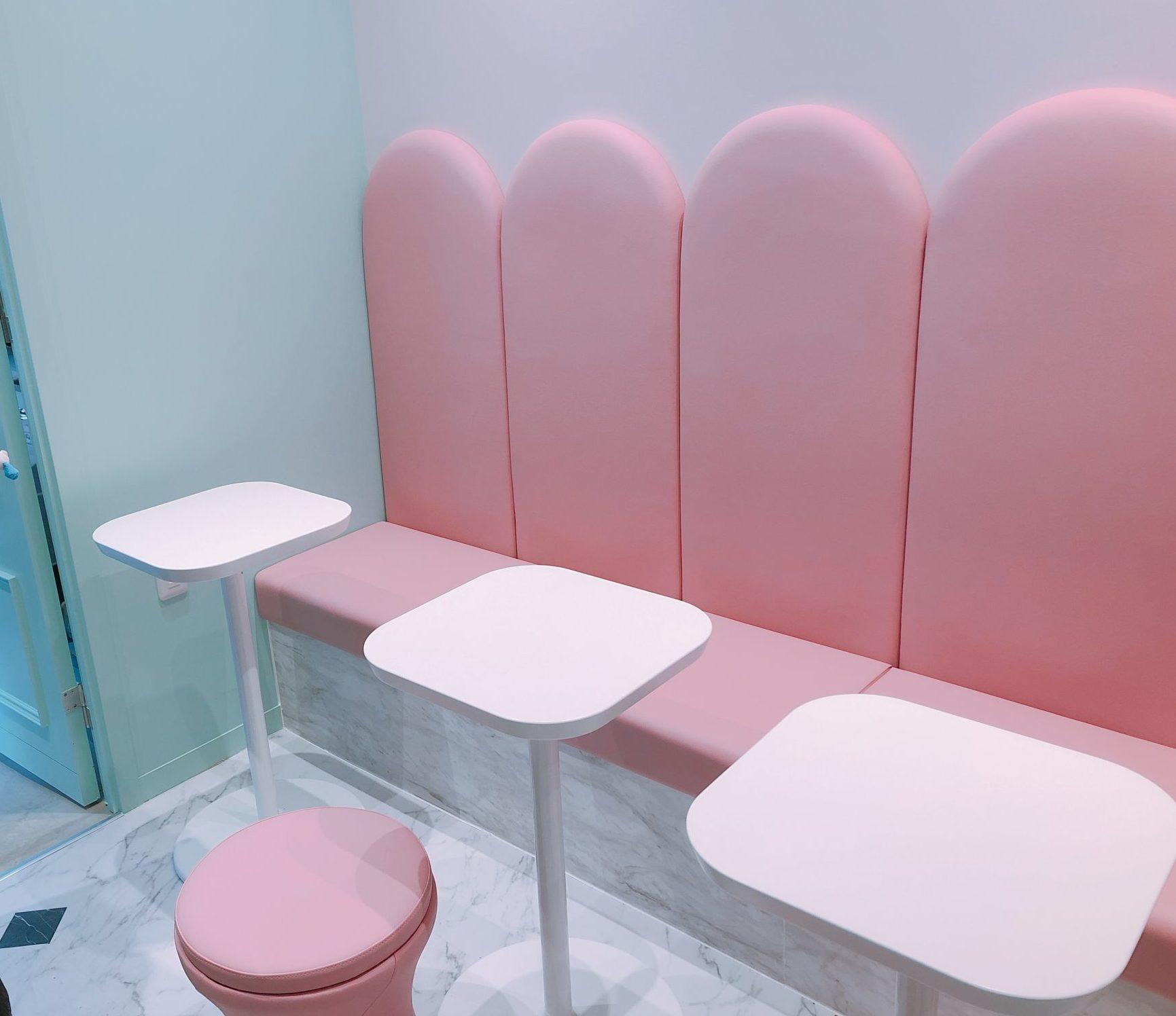 タピスタのテーブル席