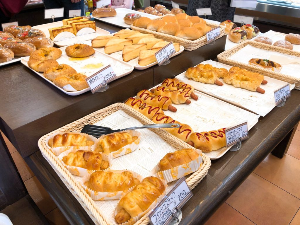 パン工房 キムラヤの惣菜パン