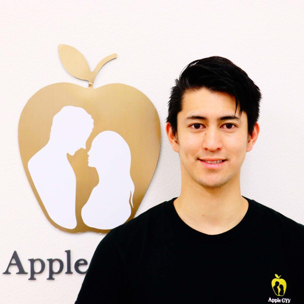 アップルジム二子玉川店のトレーナー