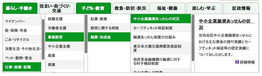 これまでの世田谷区公式ホームページの課題