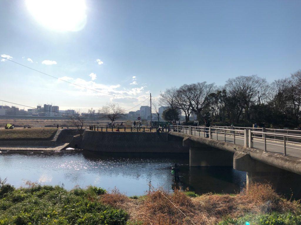 兵庫島公園の橋