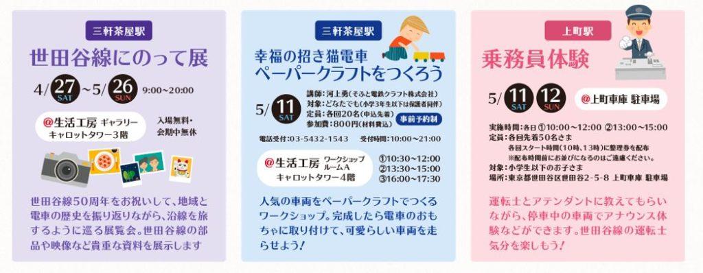 世田谷線フェスの乗務員体験