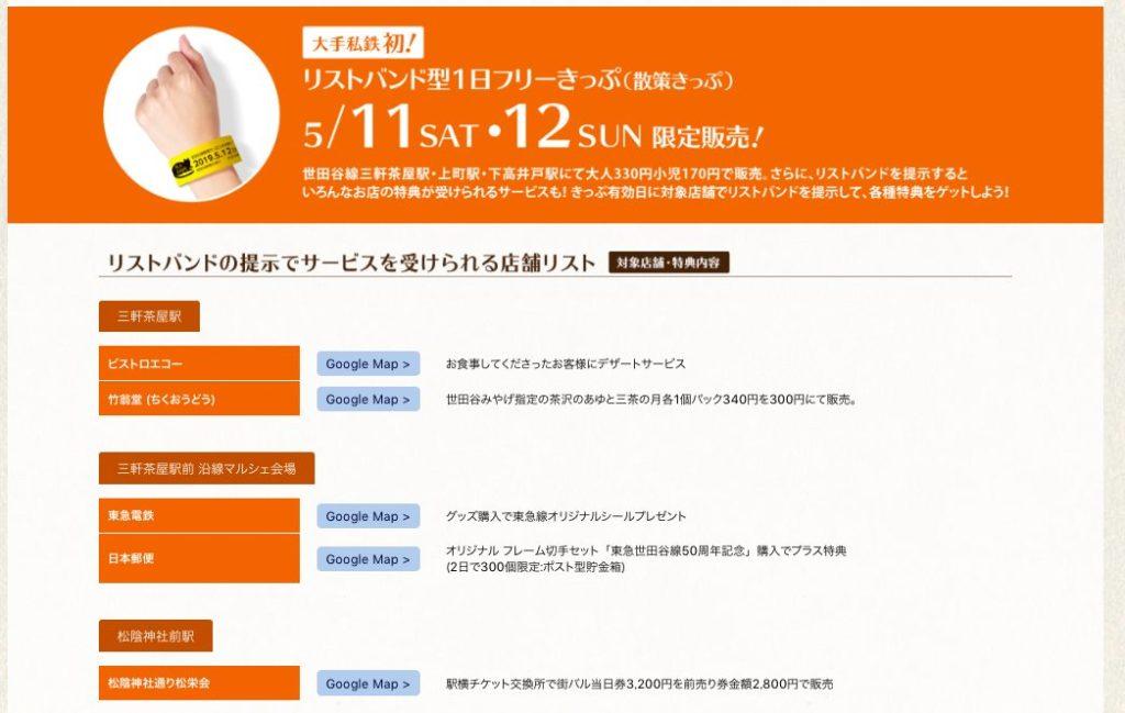 世田谷線フェスはフリーきっぷがお得
