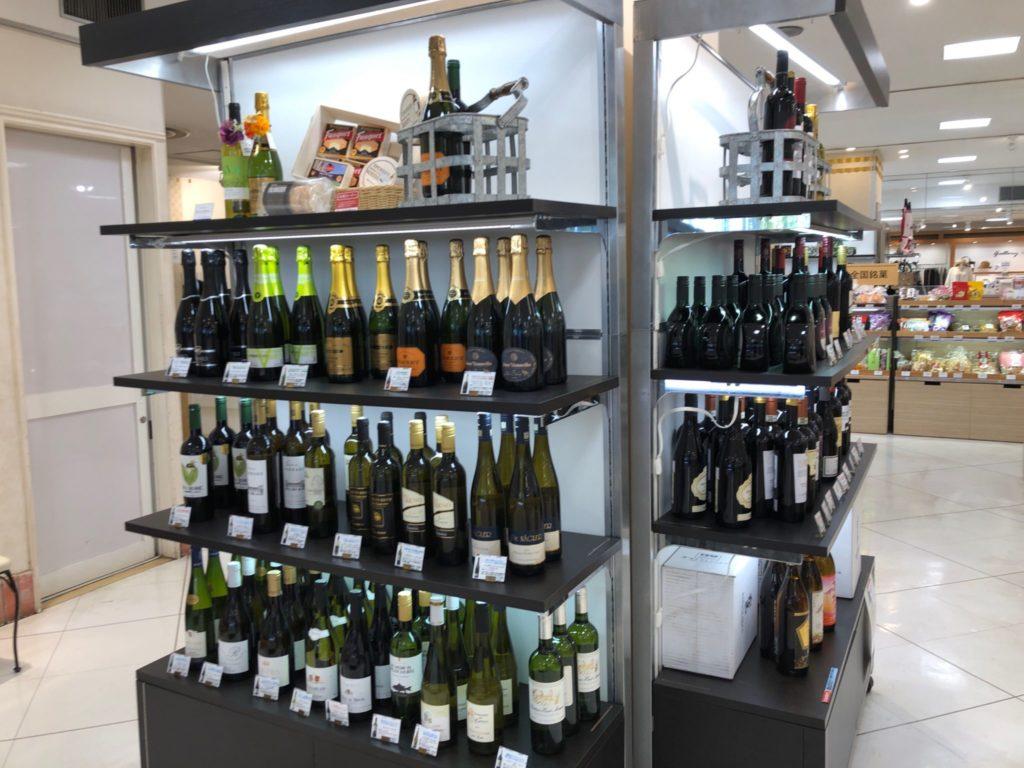 三越 馬事公苑店で買えるワイン