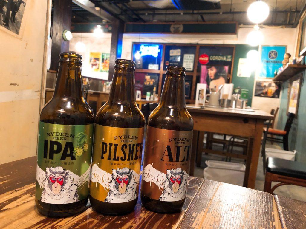 八海山のクラフトビール「ライディーン」が飲めるヴィレッジヴァンガードダイナー下北沢の店内