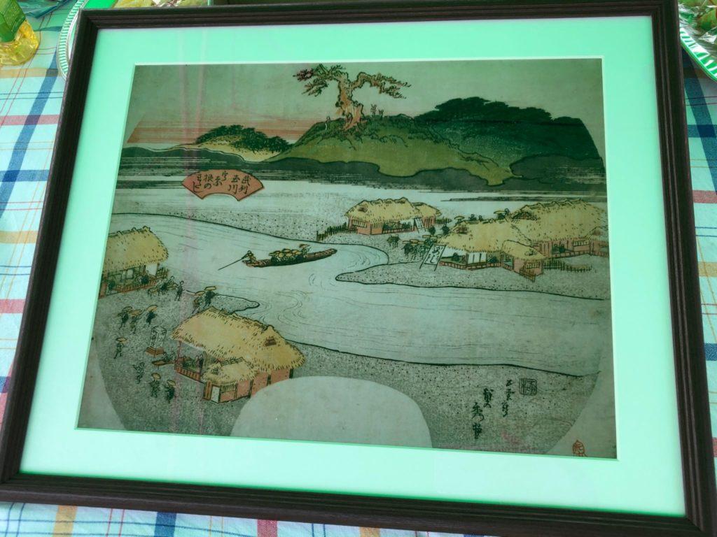 宇奈根の渡しの昔の絵
