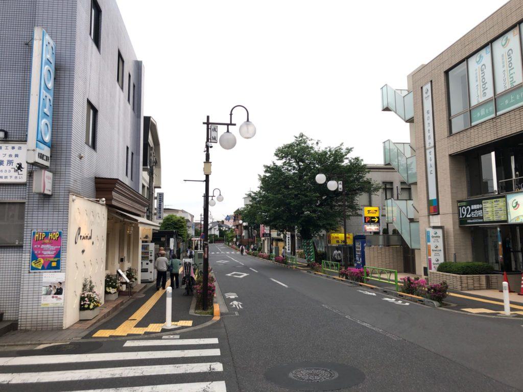 プレリアル成城のアクセス