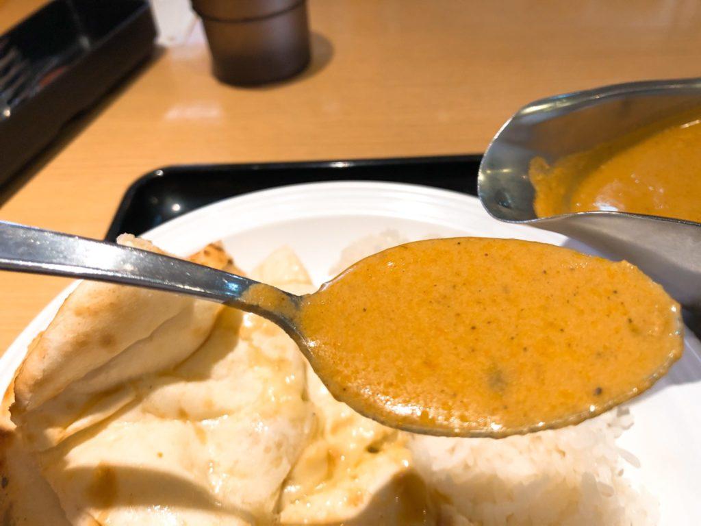 印度のスペシャルランチ 日替わりカレーはかぼちゃカレー