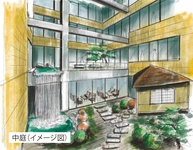 ラペ二子玉川のイメージ図
