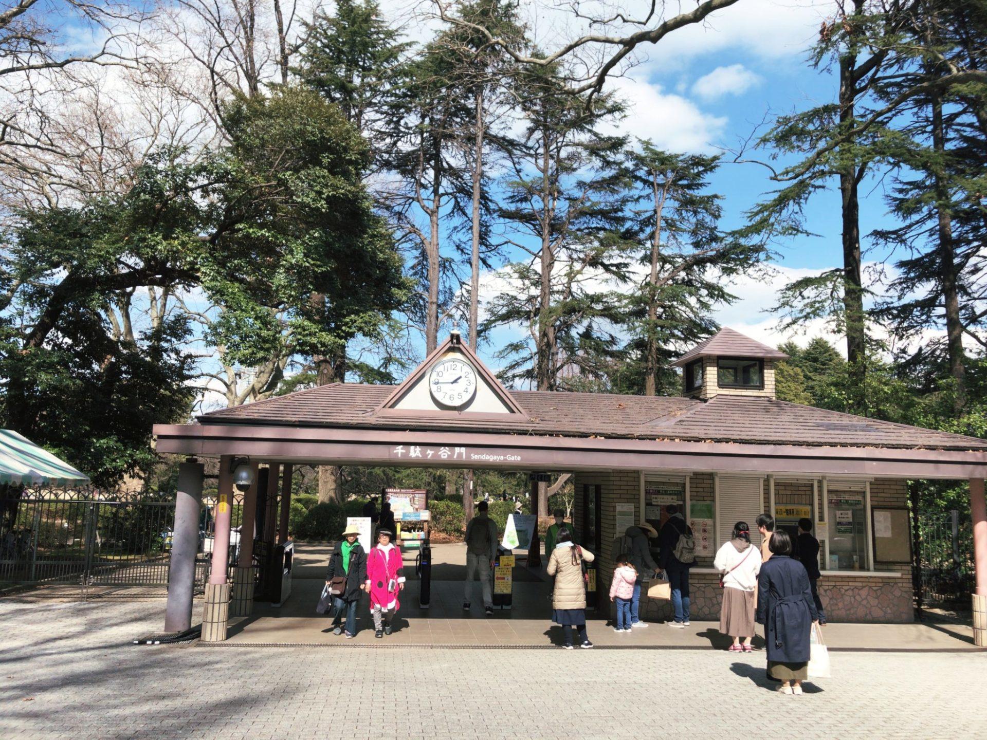 【新宿御苑】お花見は千駄ヶ谷門からアクセスが良い